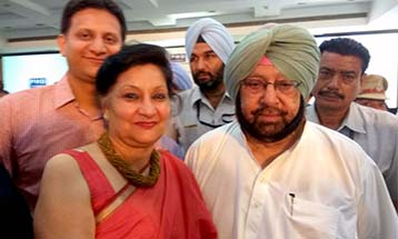Pro Chancellor DBU with CM Punjab, Captain Amarinder Singh - Desh Bhagat University