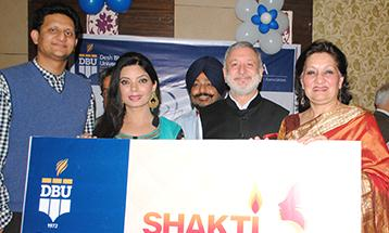 Shakti scholarship launched by famous Punjabi Star and anchor Satinder Satti - Desh Bhagat University
